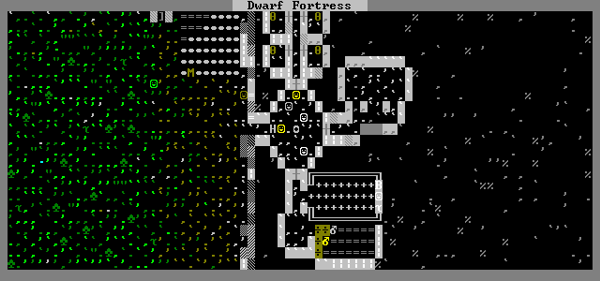 Dwarf Fortress, a convincing counterbalance to minimised games.